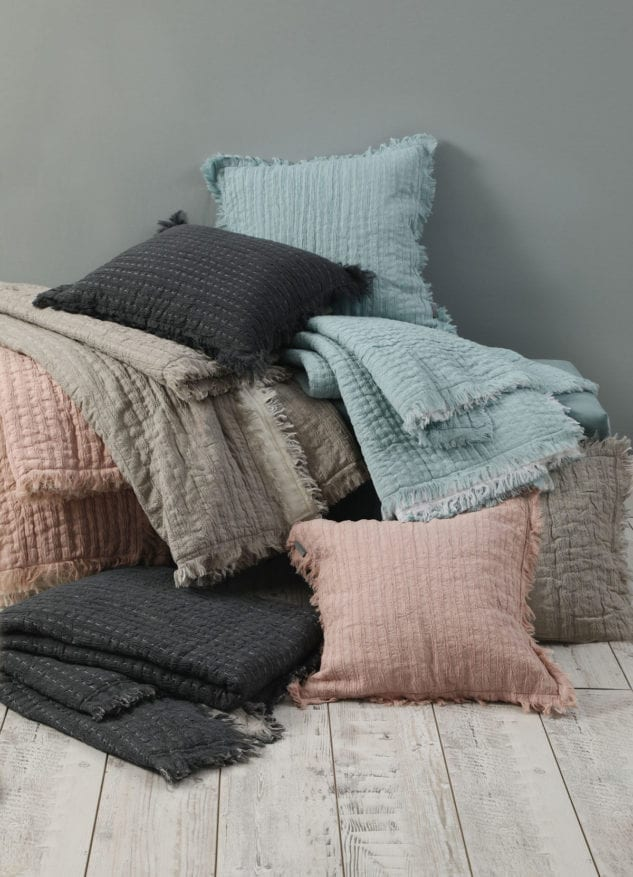 MM Linen Tali throws and cushions