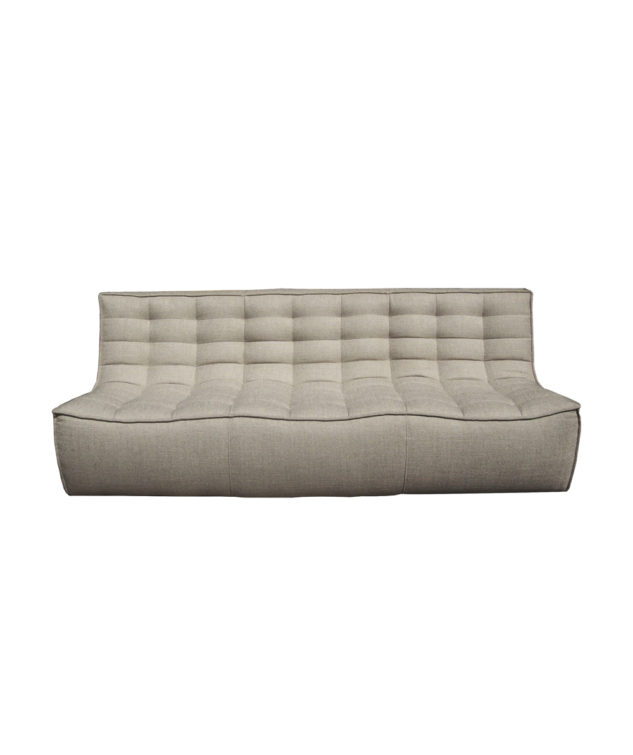Sofa 3 seater Beige 2 633x755