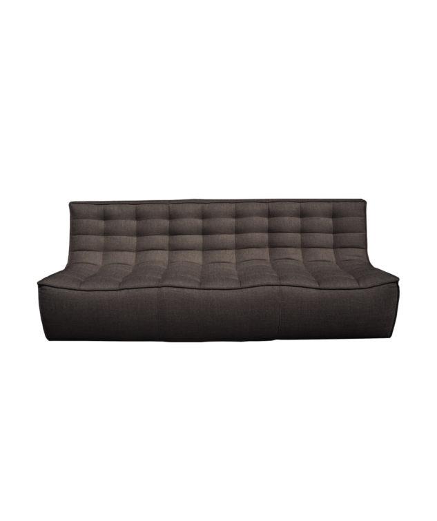 Sofa 3 seater Dark grey 633x755