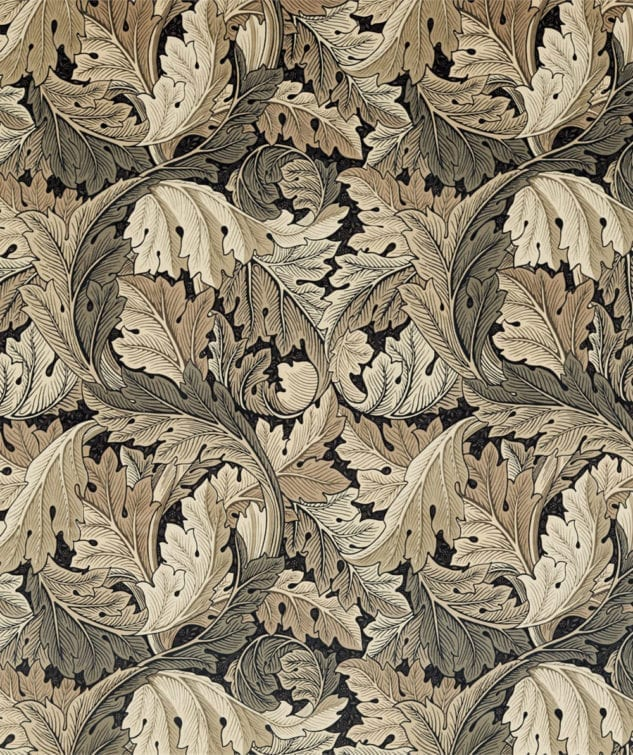 Morris & Co Archive IV The Collector Fabric Collection Acanthus