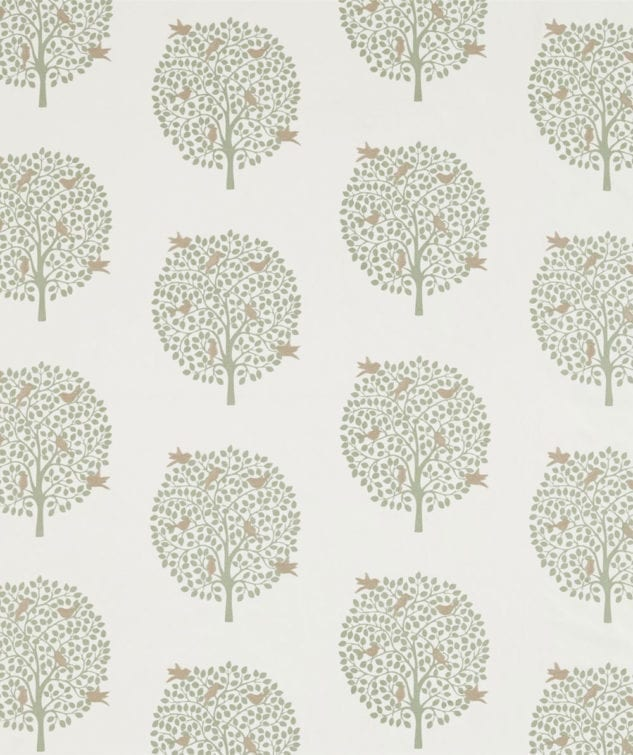 Sanderson The Potting Room Fabric Collection Bay Tree