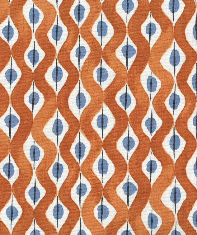 Osborne & Little Nina Campbell Fabric Collection Beau Rivage