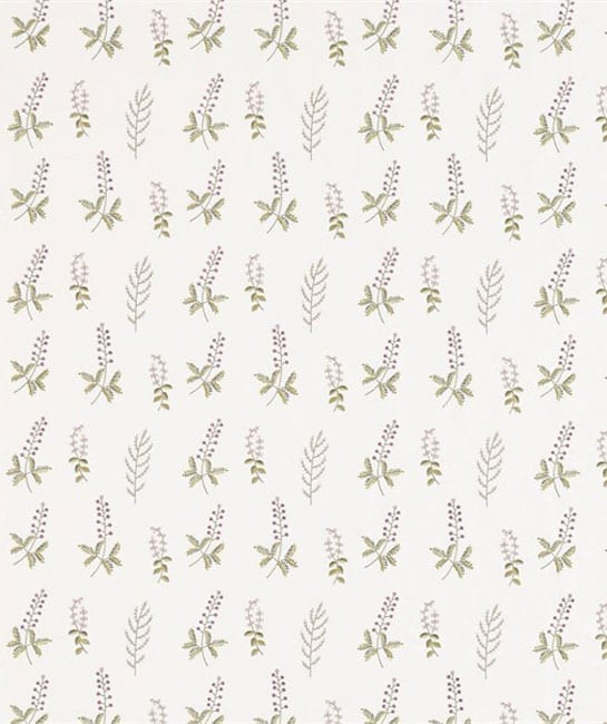 Sanderson The Potting Room Fabric Collection Billberry