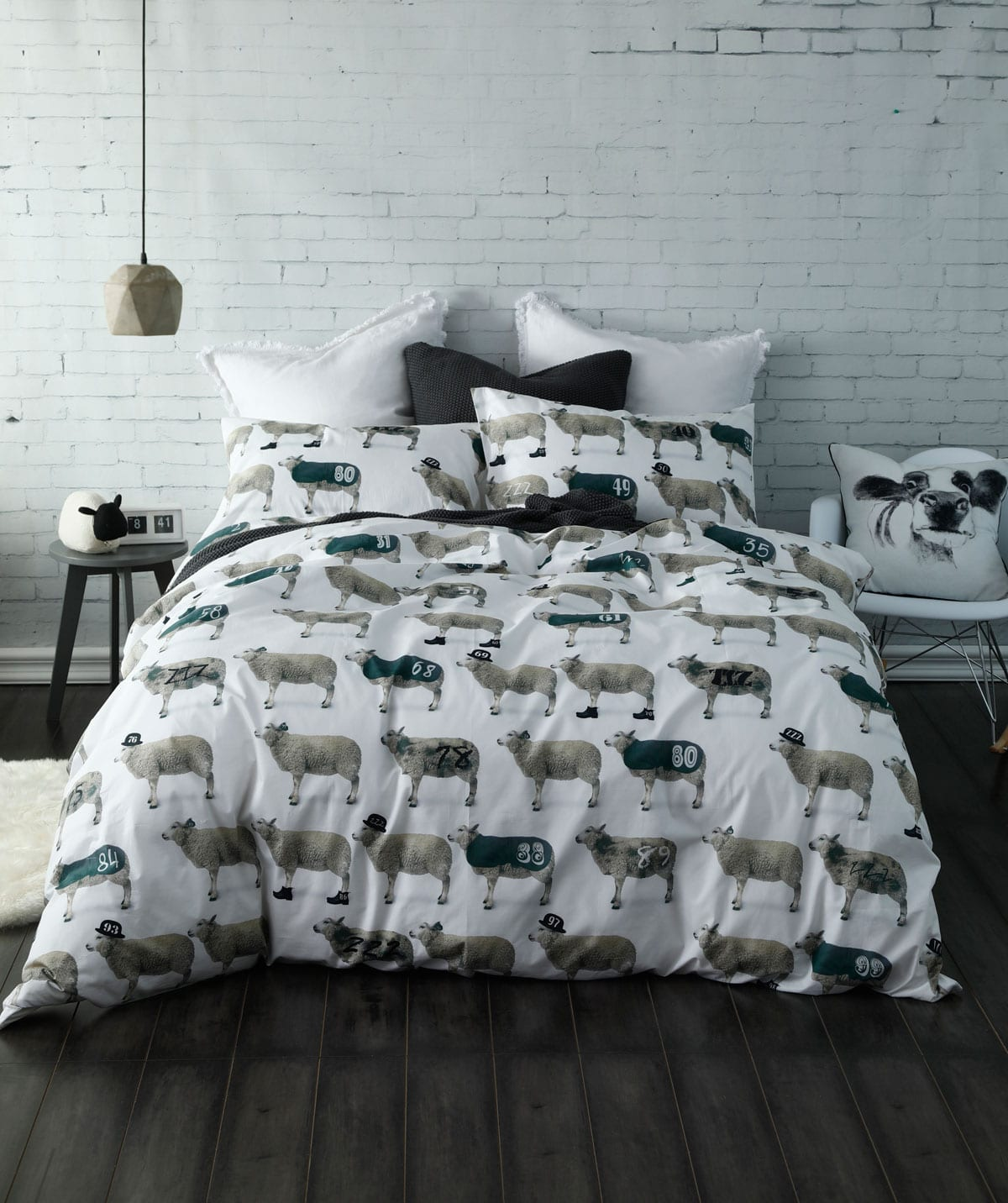 MM Linen Counting Sheep Duvet Set