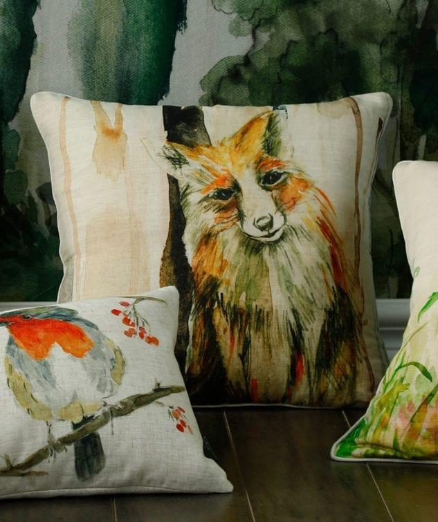 MM Linen Fox Cushion