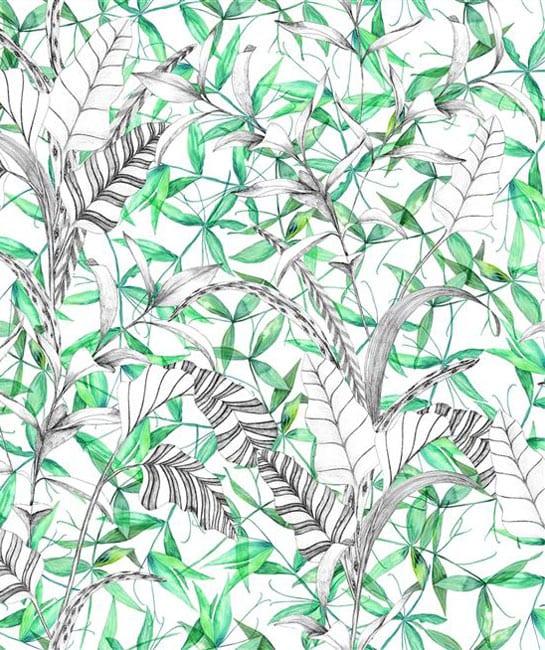 Designers Guild Giardino Segreto Fabric Collection Palme Botanique