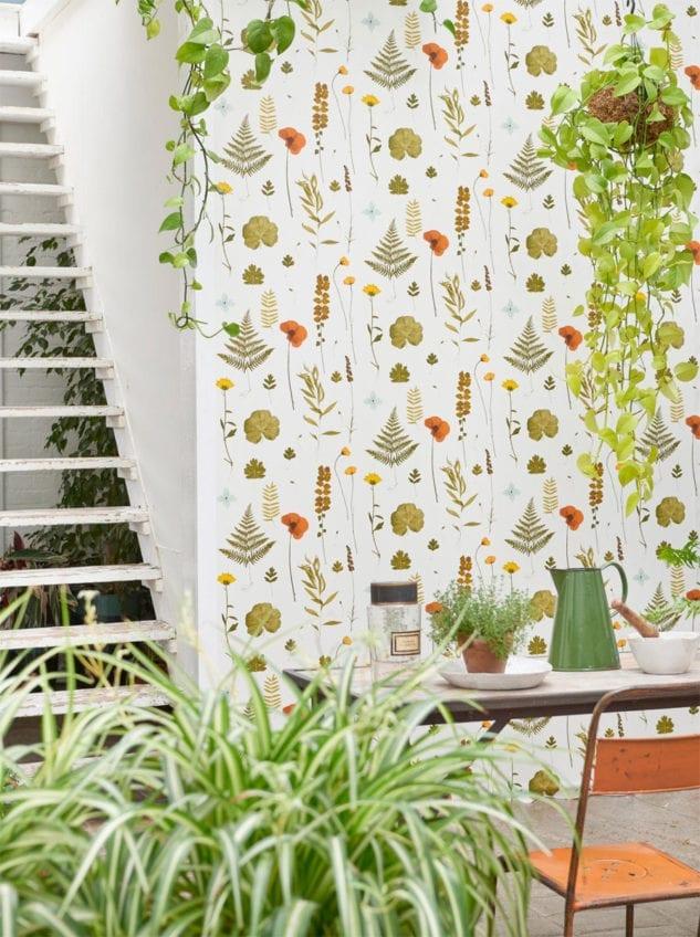 Clarke & Clarke Botanica Herbarium Mult Wallpaper