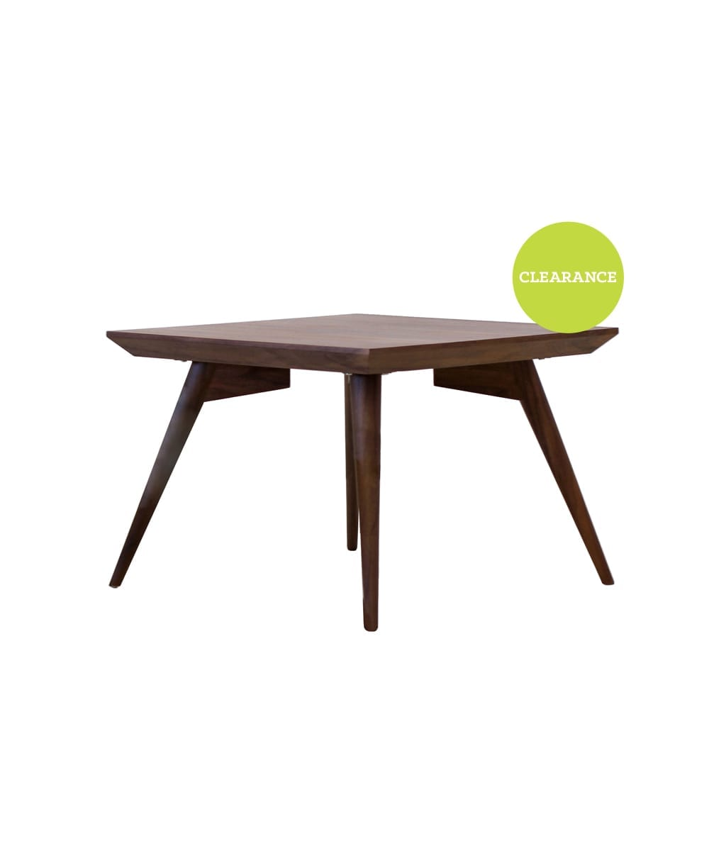 Collage Stockholm Side Table in Walnut