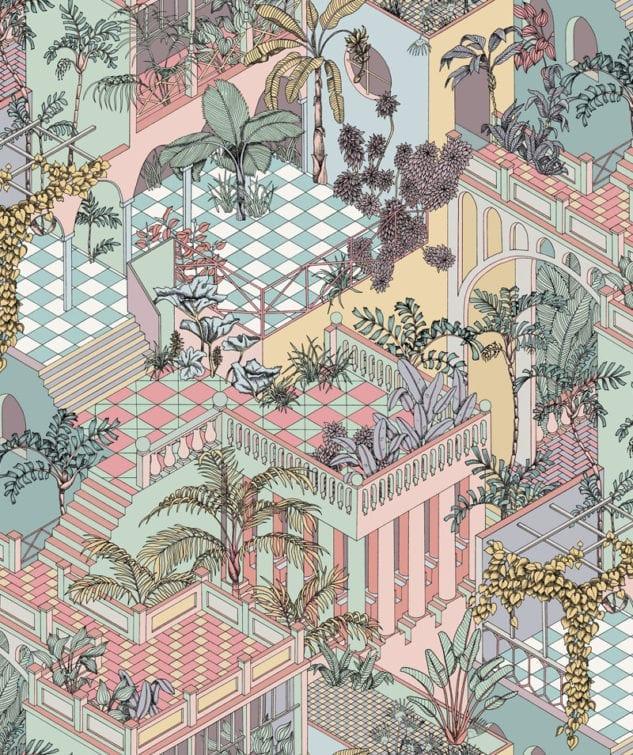 Cole & Son Icons Wallpaper Miami
