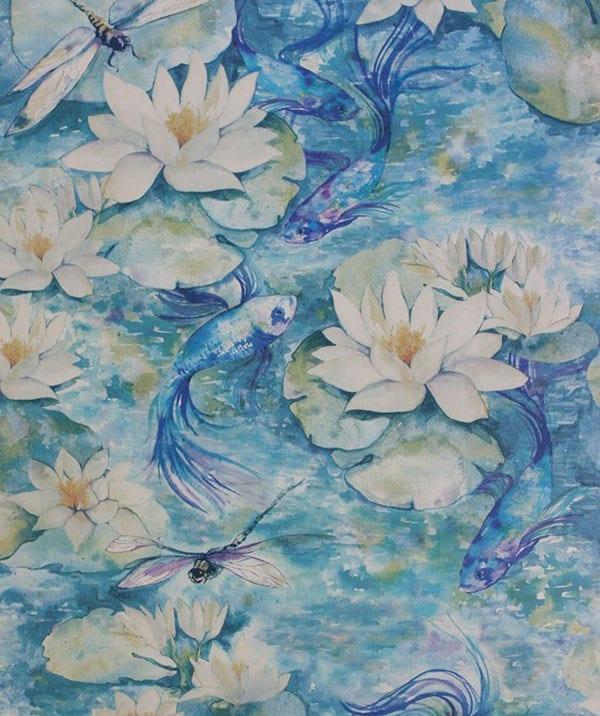 Osborne & Little Matthew Williamson Wallpaper Water Lily