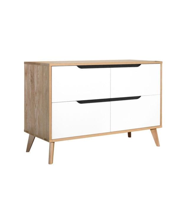 Woodpecker Furniture Astro 4 Drawer Lowboy