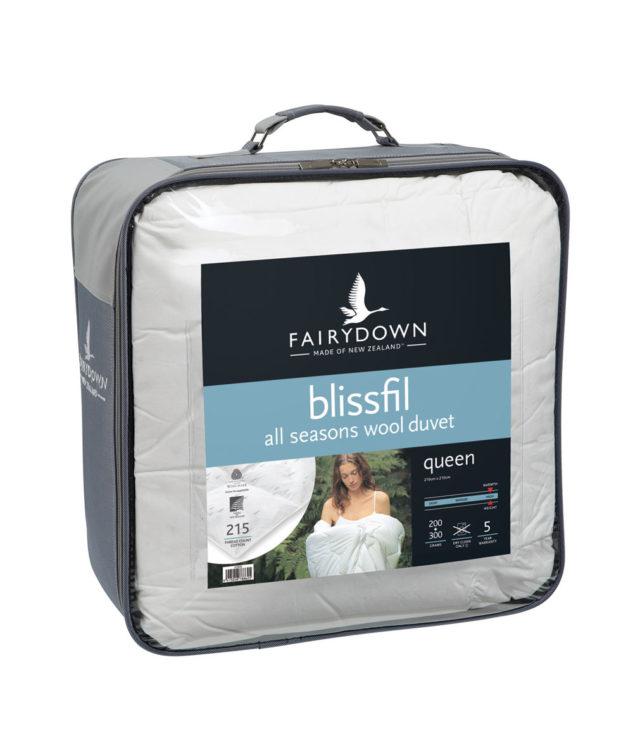 Fairydown All Seasons Wool Duvet Inner packaging 633x755