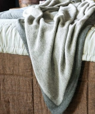 Bianca Lorenne Komorebi Knitted Throw