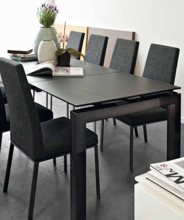 Calligaris Airport Dining table and Bess Dining Chair