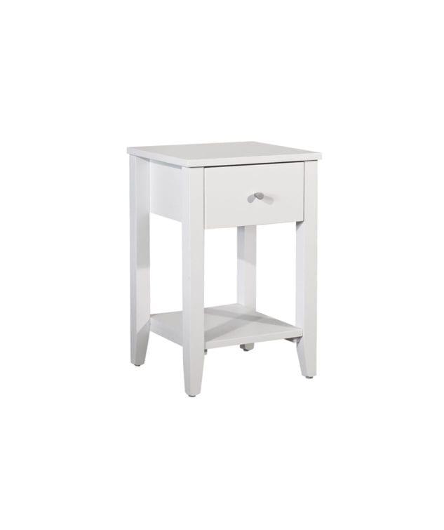 Coastwood Furniture Ivydale Bedside Pine 1 Drawer 633x755