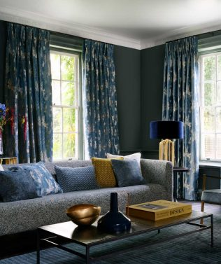 Clarke & Clarke Avalon Curtain Fabric Collection