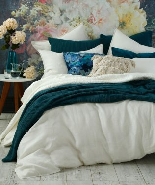 MM Linen Herringbone Duvet Set