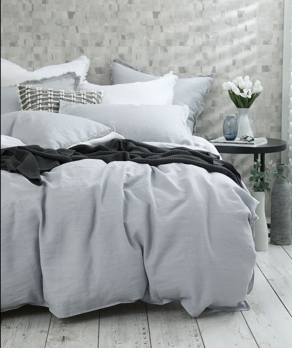 Mm Linen Laundered Linen Duvet Set Mckenzie Willis