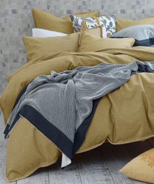 MM Linen Stitch Duvet Set