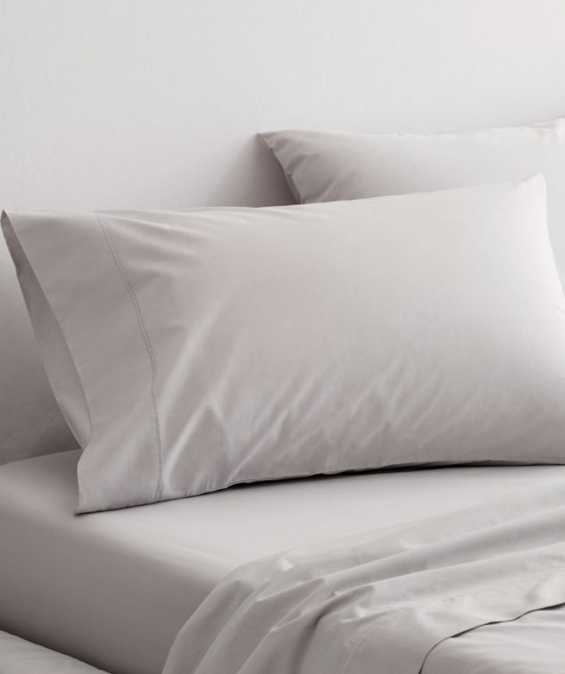 Sheridan Organic Cotton Percale 300TC Pillowcase Set