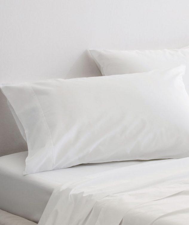 Sheridan Organic Cotton Percale 300TC King Pillowcase Set