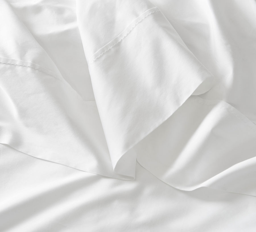 Sheridan Organic Cotton Percale 300TC Sheets Feature