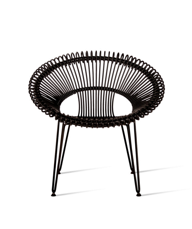Vincent Sheppard Roy Lasy Chair Black 2 633x755