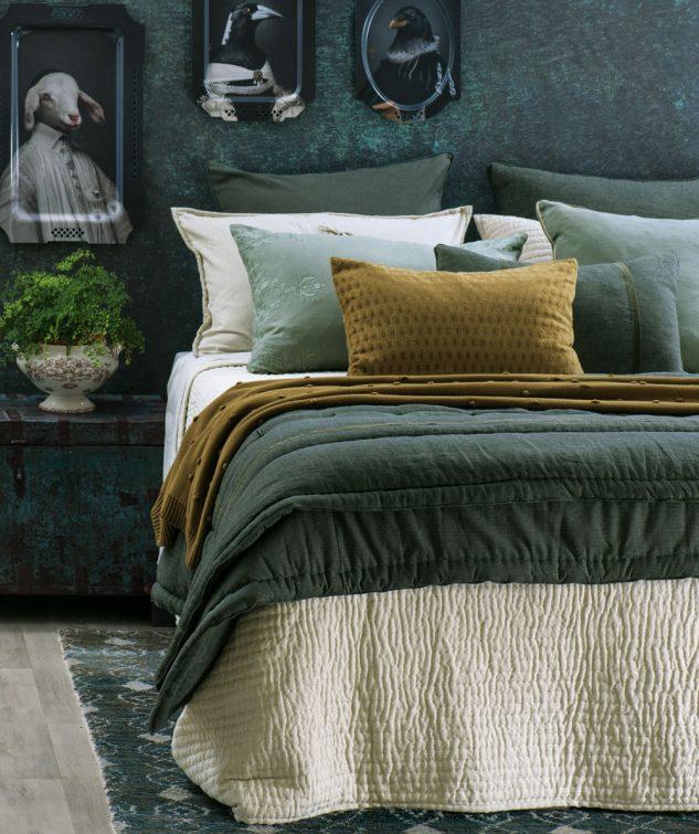 Bianca Lorenne Pavage Bedspread luchesi storm comforter 633x755
