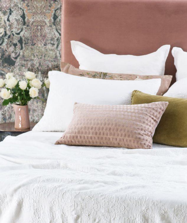 Bianca Lorenne Rabat Bedspread White 2 633x755