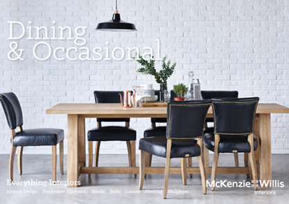 McW Dining & Occasional Collection Catalogue