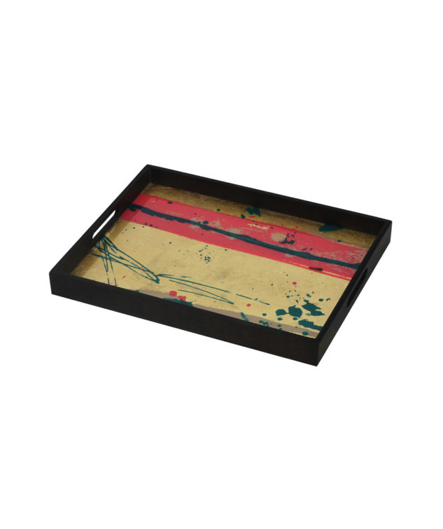 Notre Monde Tray Rectangle Small Abstract Study 633x755