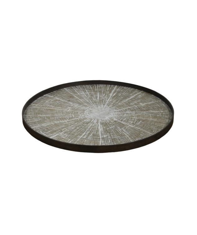 Notre Monde Tray Round Extra Large Driftwood White Slice 1 633x755