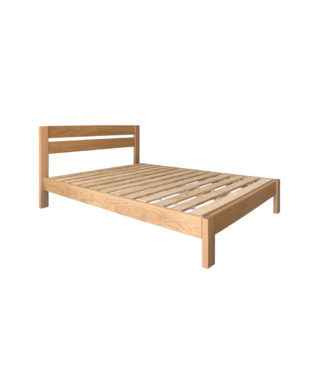 East West Designs Metro Oak Bed Frame