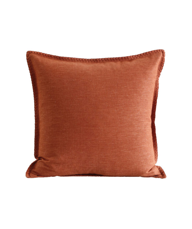 MM Linen Stitch Cushion Clay