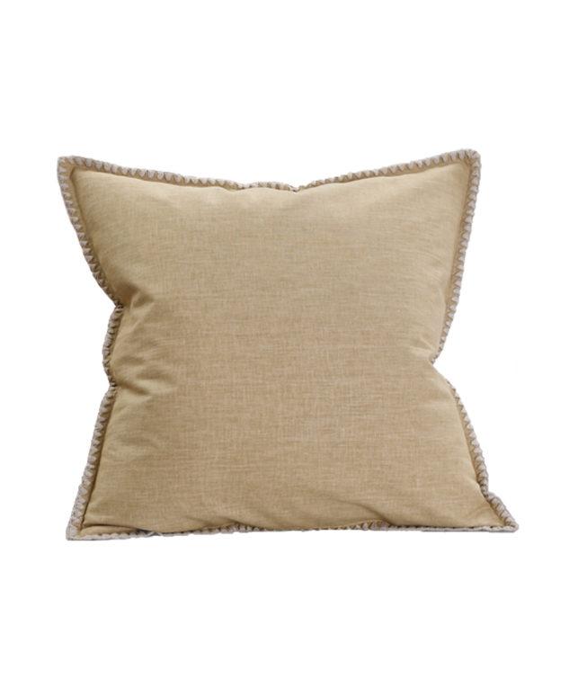 MM Linen Stitch Cushion Ochre