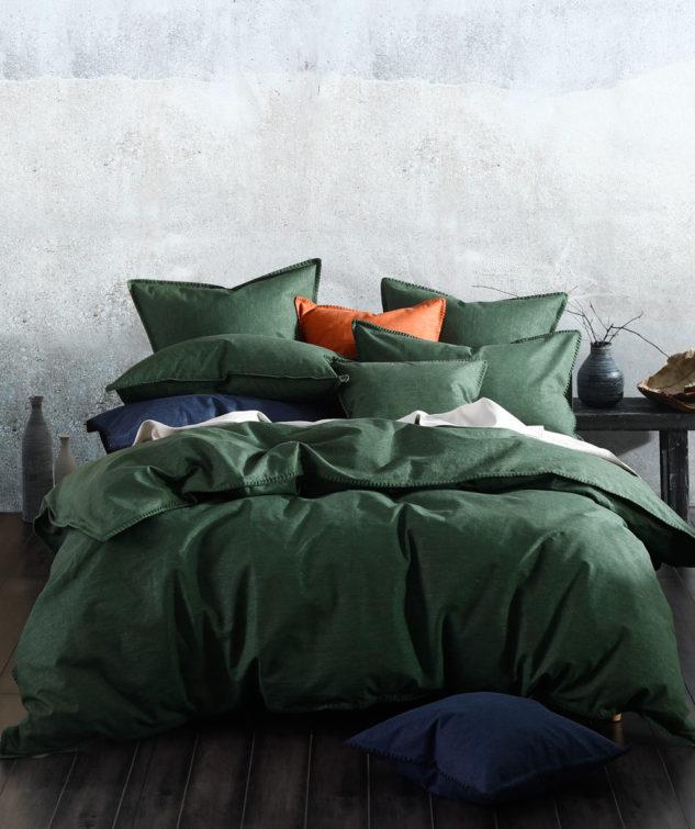 MM Linen Stitch Duvet Set Cypress 1 633x755