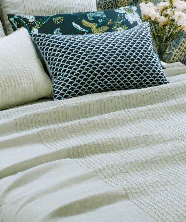 Bianca Lorenne Kaiyu Seafoam Bedspread