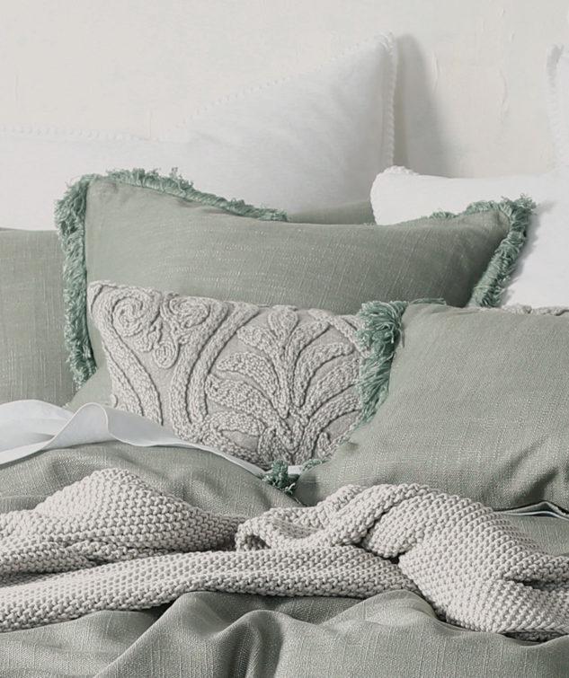 MM Linen Square Crozet Cushion