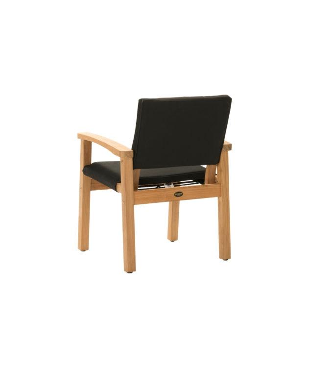 Devon Barker Chair Black Clear Cut Back Angle 633x755