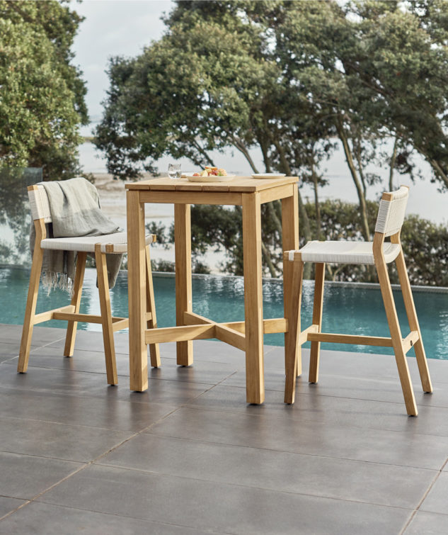 Devon Couper Outdoor Dining Table- Square