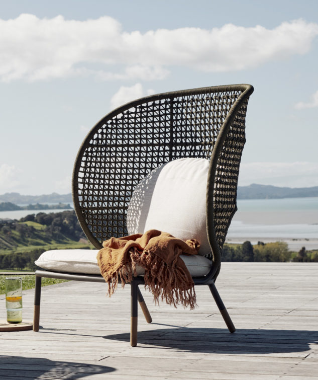 Devon Kopi Outdoor Cocoon Chair