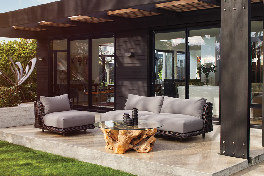 Halo Nassau Outdoor Sofa and Armchair