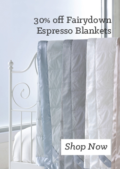 MM 30 off Fairydown Espresso Blankets. Shop Now