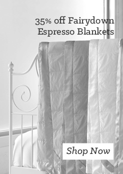MM 35 off Fairydown Espresso Blankets. Shop Now