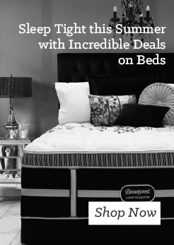 MM Sleep Tight this Summer with Incredible Deals on Beds