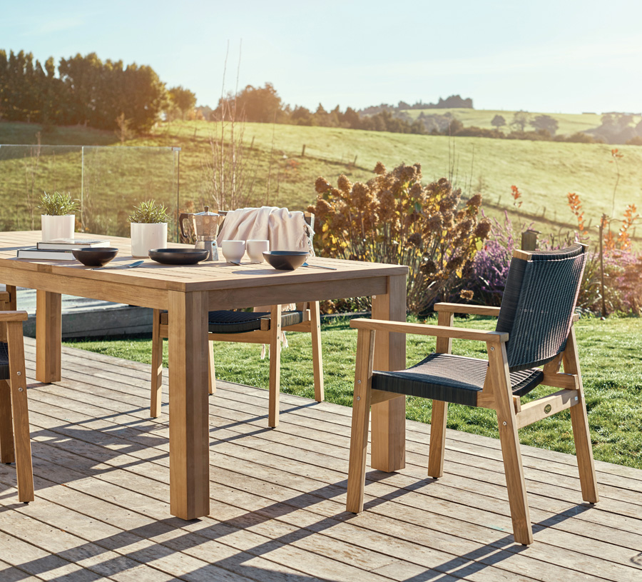 Outdoor Furniture For a Natural Look Feature