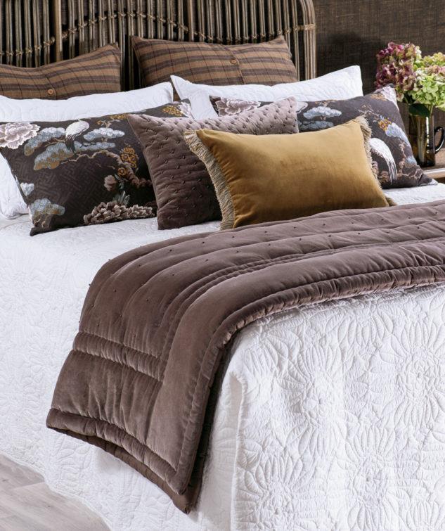 Bianca Lorenne Feza Bedspread