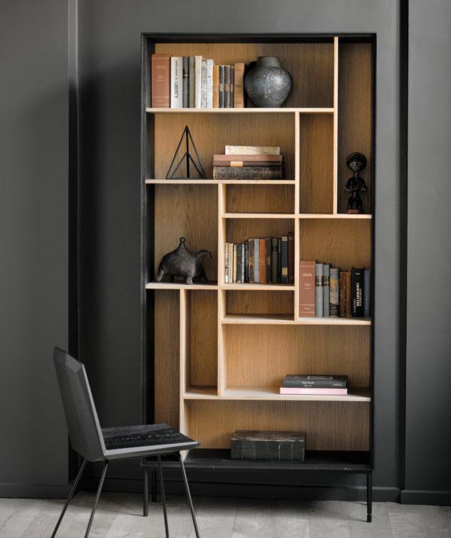 Ethnicraft Blackbird Bookshelf