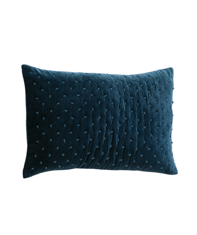 Mica Indigo Cushion