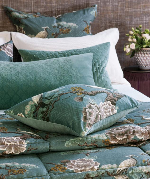 kuren ocean comforter and cushion